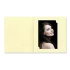 Bildermappe mit Multischlitz für 10x15, 13x18 und 15x20 cm - creme gerippt Produktbild