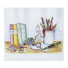 3 tlg. Schulfotomappe / Kindergartenmappe für 13x18 cm mit Fototasche - Schreibtisch Produktbild