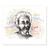 3 tlg. Schulfotomappe / Kindergartenmappe für 13x18 cm mit Fototasche - Einstein Produktbild Front View 2XS