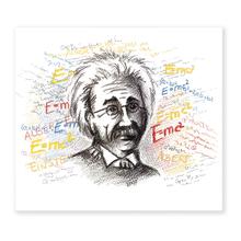 2 tlg. Fotomappe / Kindergartenmappe für 13x18 cm mit Einsteckschlitz - Einstein Produktbild