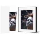 Leporello-Hülle aus Karton - weiß glänzend - für Leporellos bis 16x21,5 cm Außengröße Produktbild