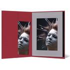 Leporello-Hülle aus Karton - rot - für Leporellos bis 16x21,5 cm Außengröße Produktbild