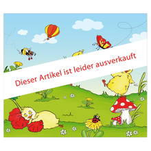 3 tlg. Schulfotomappe / Kindergartenmappe für 13x18 cm mit Fototasche - Küken Produktbild