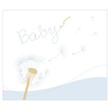 """2 tlg. Fotomappe / Babymappe für 13x18 cm mit Einsteckschlitz - """"Babydreams blau"""" Produktbild"""