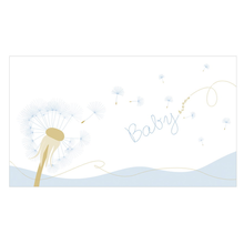 "Baby-Passepartoutkarte ""Babydreams blau"" Produktbild"