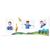 3 tlg. Fotomappe / Kindergartenmappe für 13x18 cm mit Fototasche - erster Schultag Produktbild Additional View 2 2XS
