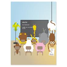 2 tlg. Fotomappe / Kindergartenmappe für 18x24 cm mit Fototasche - Schulklasse Produktbild