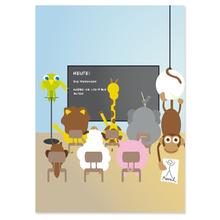 2 tlg. Fotomappe / Kindergartenmappe für 20x28 cm mit Fototasche - Schulklasse Produktbild