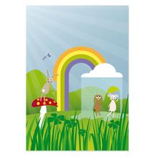 3 tlg. Fotomappe mit 4 Passepartouts für 13x18 cm ohne Fototasche - Happy day Produktbild