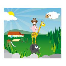 2 tlg. Fotomappe / Kindergartenmappe für 13x18 cm mit Einsteckschlitz - Musikanten Produktbild