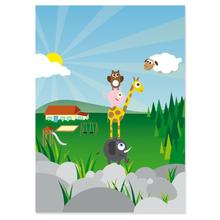2 tlg. Fotomappe / Kindergartenmappe für 20x30 cm mit Fototasche - Musikanten Produktbild