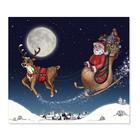 3 tlg. Schulfotomappe / Kindergartenmappe für 13x18 cm mit Fototasche - Weihnachten Produktbild