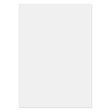 3 tlg. Fotomappe mit 4 Passepartouts für 13x18 cm ohne Fototasche - weiß mit Silberrand Produktbild
