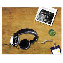 3 tlg. Fotomappe / Kindergartenmappe für 13x18 cm & 18x24 cm mit Einsteckschlitz - Music Produktbild