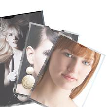 Phototaschen mit Griffloch - genarbtes Polypropylen Produktbild