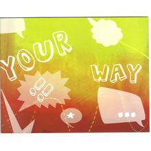 3 tlg. Fotomappe / Kindergartenmappe für 13x18 cm & 18x24 cm mit Einsteckschlitz - Freestyle Produktbild