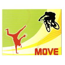 3 tlg. Fotomappe / Kindergartenmappe für 13x18 cm & 18x24 cm mit Einsteckschlitz - Move - SALE Produktbild
