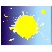 2 tlg. Fotomappe / Kindergartenmappe für 13x18 cm mit Einsteckschlitz - World Produktbild