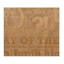 2 tlg. Fotomappe / Kindergartenmappe für 13x18 cm mit Einsteckschlitz - Words Produktbild