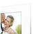 Stabiler Aufsteller mit Schrägschnitt für 20x30 cm -  weiße Maske - weißer Kern - mit weißer Rückwand Produktbild Additional View 4 2XS
