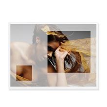 """Grußkarte """"Design"""" transparent - 2 Ausschnitte - 11x15,5 cm Produktbild"""