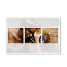 """Grußkarte """"Design"""" transparent - 3 Ausschnitte - 13x18 cm Produktbild"""