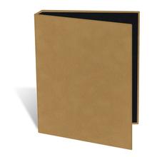 """Leporello Buch-Einband mit Rücken Serie """"FUR"""" Produktbild"""
