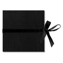 """Leporello-Einbanddeckel, 2 tlg. mit Satinschleife """"Moiré"""" Produktbild"""