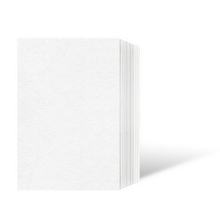 Leporello-Unterlage für 10x15 cm / für 9x13 cm - weiß - 25 Teile Produktbild