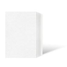Leporello-Unterlage für 10x15 cm / für 9x13 cm - weiß - 50 Teile Produktbild