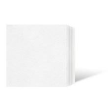 Leporello-Unterlage für 7x10 cm / für 6x9 cm - weiß - 100 Teile Produktbild