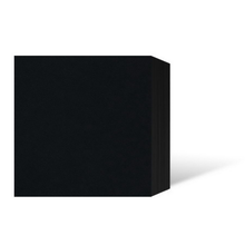 Leporello-Unterlage für 21x21 cm / für 13x18 cm - schwarz - 8 Teile Produktbild