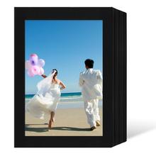 Endlosleporello  für 13x18 cm - schwarz - schwarze matte Maske - ohne Rand - 100 Teile Produktbild