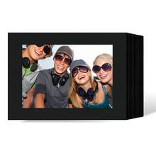 Endlosleporello  Querformat für 13x18 cm - schwarz - schwarze matte Maske - ohne Rand - 50 Teile  Produktbild