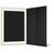Portraitmappe mit Tasche für 13x18 cm- schwarz - creme gerippte Maske Produktbild Additional View 3 2XS