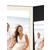 Portraitmappe mit Tasche für 13x18 cm- schwarz - creme gerippte Maske Produktbild Additional View 4 2XS