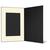 Eventmappe ohne Tasche für 13x18 cm - schwarz  - creme gerippte Maske Produktbild Additional View 3 2XS