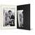Portraitmappe mit Tasche für 15x20 cm schwarz - creme gerippte Maske Produktbild Additional View 2 2XS