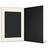 Portraitmappe mit Tasche für 15x20 cm schwarz - creme gerippte Maske Produktbild Additional View 3 2XS