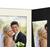 Portraitmappe mit Tasche für 15x20 cm schwarz - creme gerippte Maske Produktbild Additional View 4 2XS