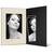 Portraitmappe mit Tasche für 13x18 cm - schwarz - creme satinierte Maske Produktbild Additional View 2 2XS