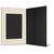 Portraitmappe mit Tasche für 13x18 cm - schwarz - creme satinierte Maske Produktbild Additional View 3 2XS