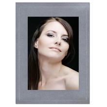Fotomaske für 13x18 cm - silber satiniert - mit Blindprägung - ohne Rückwand Produktbild