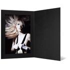 Eventmappe ohne Tasche für 15x20 cm - schwarz matt - ohne Rand Produktbild