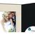 DVD/CD Fotomappe für 15x20 cm - schwarz - creme satinierte Maske - Blindprägung Produktbild Additional View 4 2XS