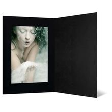Eventmappe ohne Tasche für 20x30 cm - schwarz matt - schwarz matte Maske Produktbild