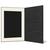 DVD/CD Fotomappe für 10x15 cm - schwarz - creme gerippte Maske - ohne Rand Produktbild Additional View 3 2XS