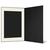 Eventmappe ohne Tasche für 10x15 cm - schwarz  - creme gerippte Maske Produktbild Additional View 3 2XS