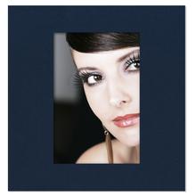 Fotomaske quadratisch für 6x9 cm - blau gerippt - ohne Rückwand Produktbild