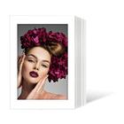 Endlosleporello für 13x18 cm - weiß - weiß glänzende Maske - ohne Rand - 100 Teile  Produktbild